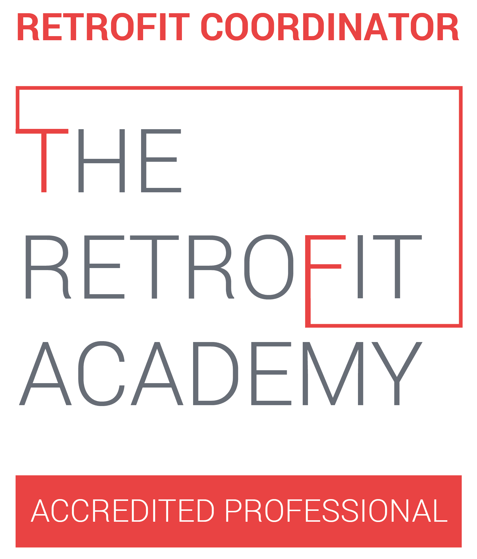 The Retrofit Academy Logo - www.ecotiffin.co.uk