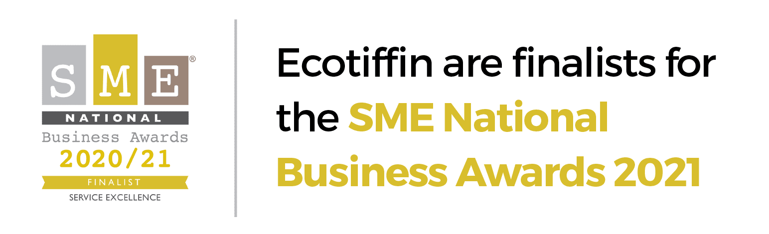 Ecotiffin are finalists for the SME National Business Awards 2021